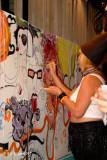 Fantasy Fest  Burlesque Mural Party 8