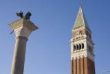 Two symbols of Venice