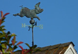Weathervane_Flying Pig
