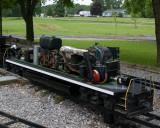 model diesel innards