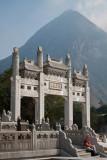Gate of Po Lin Monastery