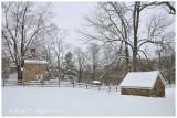 Winter at Historic Thompson Neely Farm