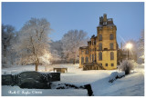 Snowy Winter Evening at Fonthill