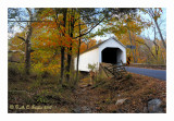 Loux Covered Bridge, Plumstead Township