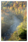Autumn Mist at High Rocks Vista