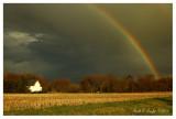 Rainbow Over Durham Farm