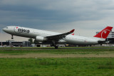 Northwest Airbus A330-300  N808NW