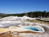Pools and geysers