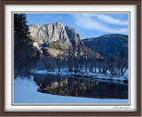 Upper Yosemite Fall Across Merced River