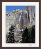 Upper Yosemite Fall Rainbow