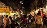 Indore Market at NIght
