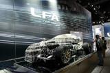 Lexus LFA skeleton