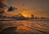 Golden Sunrise at the Beach