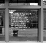A City Poem