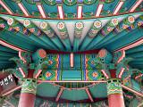 Detail - Pagoda at Taejon Park - Seattle