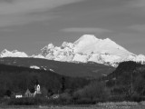 Mount Baker from Conway, WA