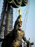 Peter the Great ship statue.JPG