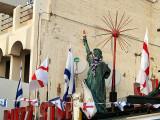 Tel Aviv buzz stop statue of liberty.JPG