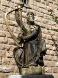 mt zion king david statue.JPG