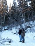 Dave and Alan at Whitemud Creek