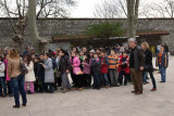 Kids visiting Topkapi Sarayi ( Palace )