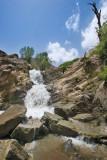Ganj nameh Waterfall