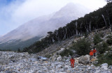On the way to Piedras Blancas Glacier