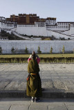 Praying in front of Potala