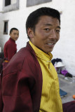 Pilgrim at Jokhang