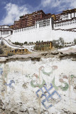 Potala and graffito