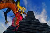 Colorido Godzilla Mexicano