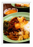 Nasi Gudeg Padang Combo