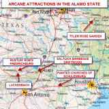 TEXAS BACKROADS ARCANE ATTACTIONS IN THE ALAMO STATE