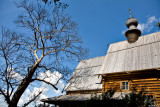 Äåðåâÿííàÿ Íèêîëüñêàÿ öåðêîâü (1766). St. Nicholas's Church from village of Glotovo