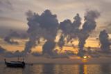 Smoking morning. Phi Phi Island