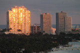 View from our hotel - Miami