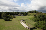 View from the top of the Altun Ha ruins in Belize