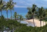 View from our hotel room - Wailea Beach Marriott - Ulua Beach - pre tsumani