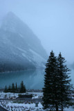View of Lake Louise from our window