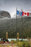 Canada & Alberta Flags