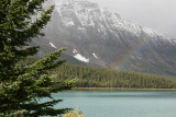 Rainbow on the Icefields Parkway