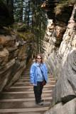 Ang at Athabasca Falls