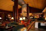 Inside the Fairmont Jasper Park Lodge