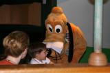 Pluto at Garden Grill Restaurant