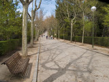 Entrada al parque / Entry to the park