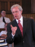 August 8 & 10, 2008: Dr. Charles Stanley in the Ocean Grove Auditorium
