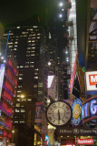 NYC: Times Square and Rockefeller Center at Night in January 2010