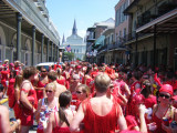 New Orleans Red Dress Run 2008