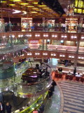 Atrium of Carnival Dream