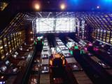 Elevators in 11- Deck High Atrium of Carnival Dream